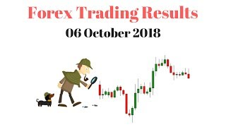 Forex Trading Results of the Week - 06 October 2018