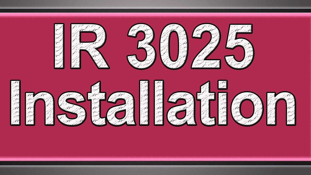 CANON IR3025 PCL5E WINDOWS 8 X64 DRIVER
