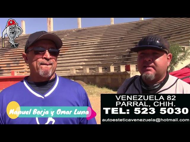 Manuel Borja y Omar Luna