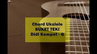 Tutorial Chord Kunci Ukulele Suket Teki dari G  - Didi Kempot, Via Vallen, NDX AKA