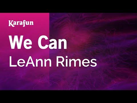 Karaoke We Can - LeAnn Rimes *