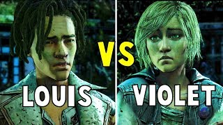 Appeal to Louis vs Appeal to Violet All ENDINGS - The Walking Dead The Final Season thumbnail
