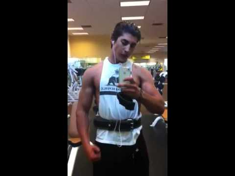 18 year old Persian bodybuilder