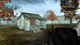 Jugando a Battlefield 2 Euro Force gameplay