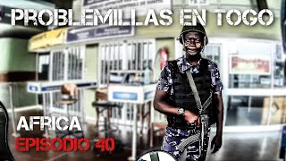 Problems in TOGO | Motorcycle world tour | Africa #40 [SUB]