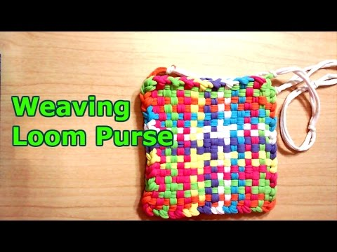 Weaving Loom Purse