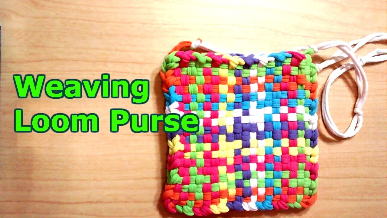 Weaving Loom Purse - YouTube