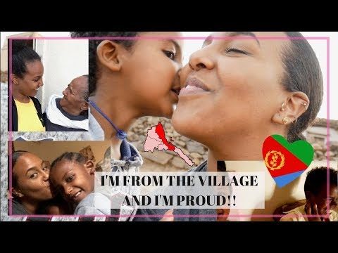 ERITREA 2018 VLOG 3 | I'M FROM THE VILLAGE AND I'M PROUD!!