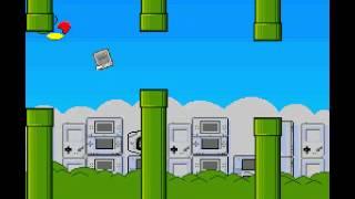 Frappy SNES (flappy bird clone) - high score : 95 - User video