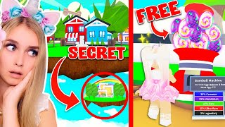 This NEW SECRET LOCATION Gives You FREE LEGENDARY PETS In Adopt Me.. (Roblox)