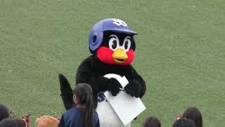 つば九郎先生「焼き鳥は何が好きですか?」子供の純粋な質問に優しく答えてくれました!! 2018.12.2