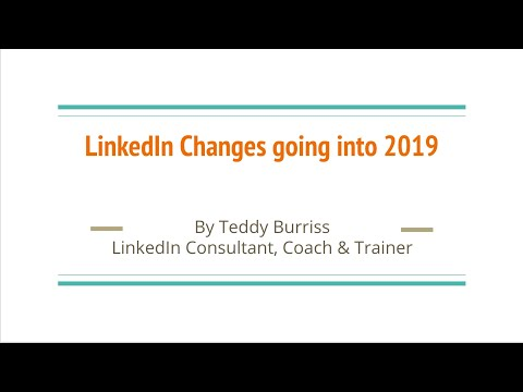 2019 LinkedIn Changes to Pay Attention to | Македонија VLIP