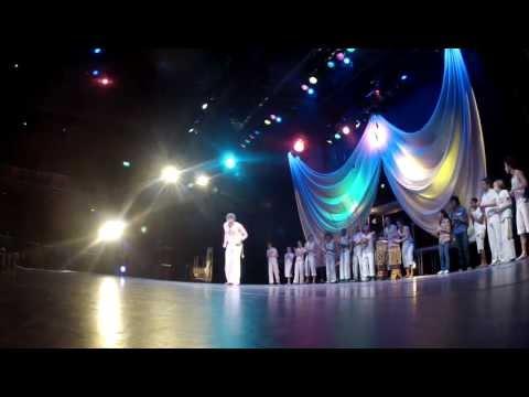 Capoeira Groot Podium in Theater en Kunstencentrum De Kom Nieuwegein