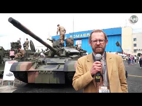 BSDA 2018 Romanian Army Military Equipment And Armoured Vehicles MBT Bucharest