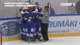 Loppuottelun huippuhetket Lillehammer-Calgary // 4.3.2018 Pohjola-leiri
