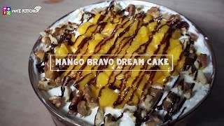 Mango Bravo Dream Cake - Pavz Kitchen