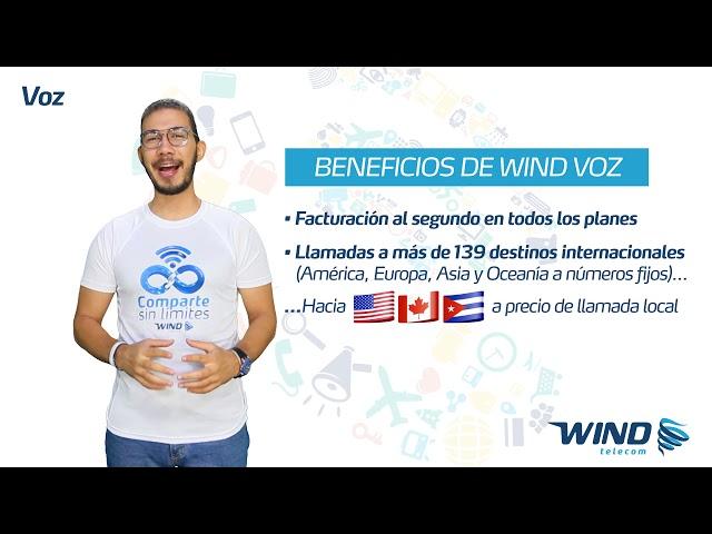 Planes de Voz Wind Telecom