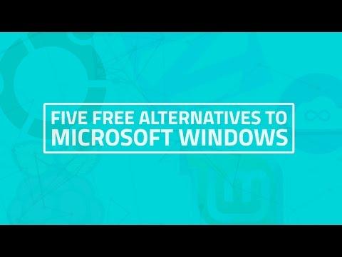 Five Free Alternatives to Microsoft Windows
