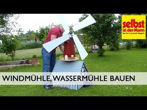 Windmühle Und Wassermühle Bauen Youtube