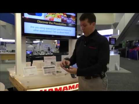 Micro & Specialty Spectrometers - Hamamatsu at Photonics West 2019