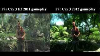 Far Cry 3 beta vs final scene