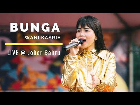 BUNGA - WANI KAYRIE (LIVE) @ Johor Bahru