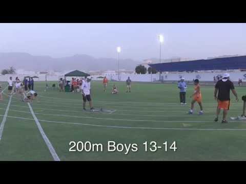 200 Meter Run - Finals