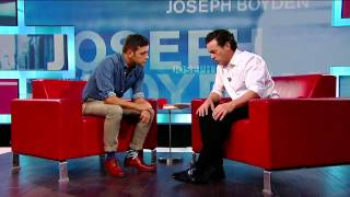 Joseph Boyden on George Stroumboulopoulos Tonight: INTERVIEW