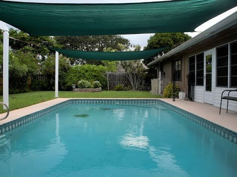 Pool Shade Sails - DIY Costs and Setup - YouTube