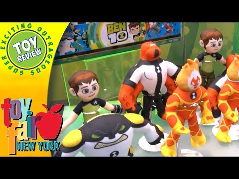 Ben 10 Product Display at New York Toy Fair 2018 - SEO Toy Review