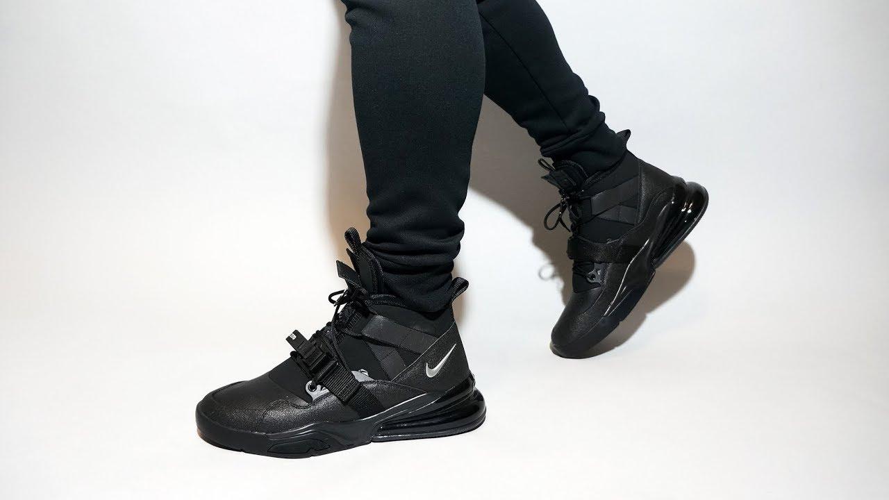 Nike Air Force 270 Utility Black AQ0572