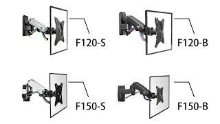 Похило поворотний кронштейн для телевізора NB F120, NB F120 S, NB F150, NB S F150