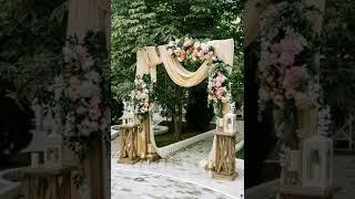 dekorasi gate pintu masuk out door #dekorasirustic #dekorasivintage #weddingdecor