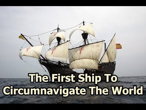 On This Day - 6 September 1552 - The Victoria Circumnavigated The World