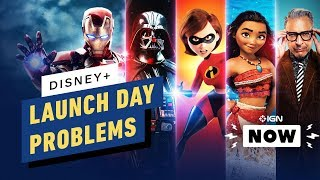 Disney+ Suffers Day 1 Technical Problems - IGN Now