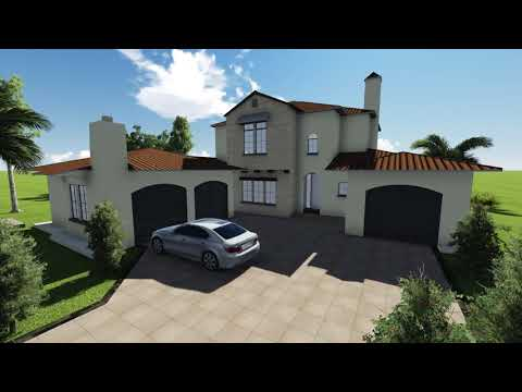 3d Fly-through Animation of Multistory Home