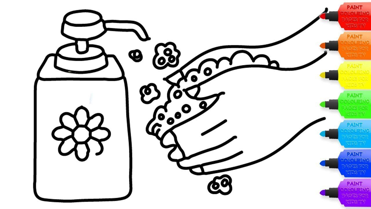 Wash Your Hands Coloring Worksheets & Teaching Resources | TpT | 720x1280