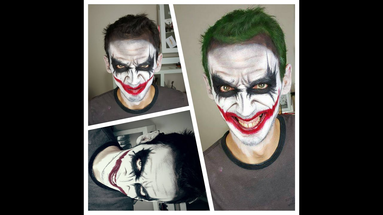 Maquillage HALLOWEEN n°2 ] JOKER feat Loic - YouTube