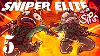 Sniper Elite 4 w/ Sips! [Part 5 ] - Love is a Battlefield