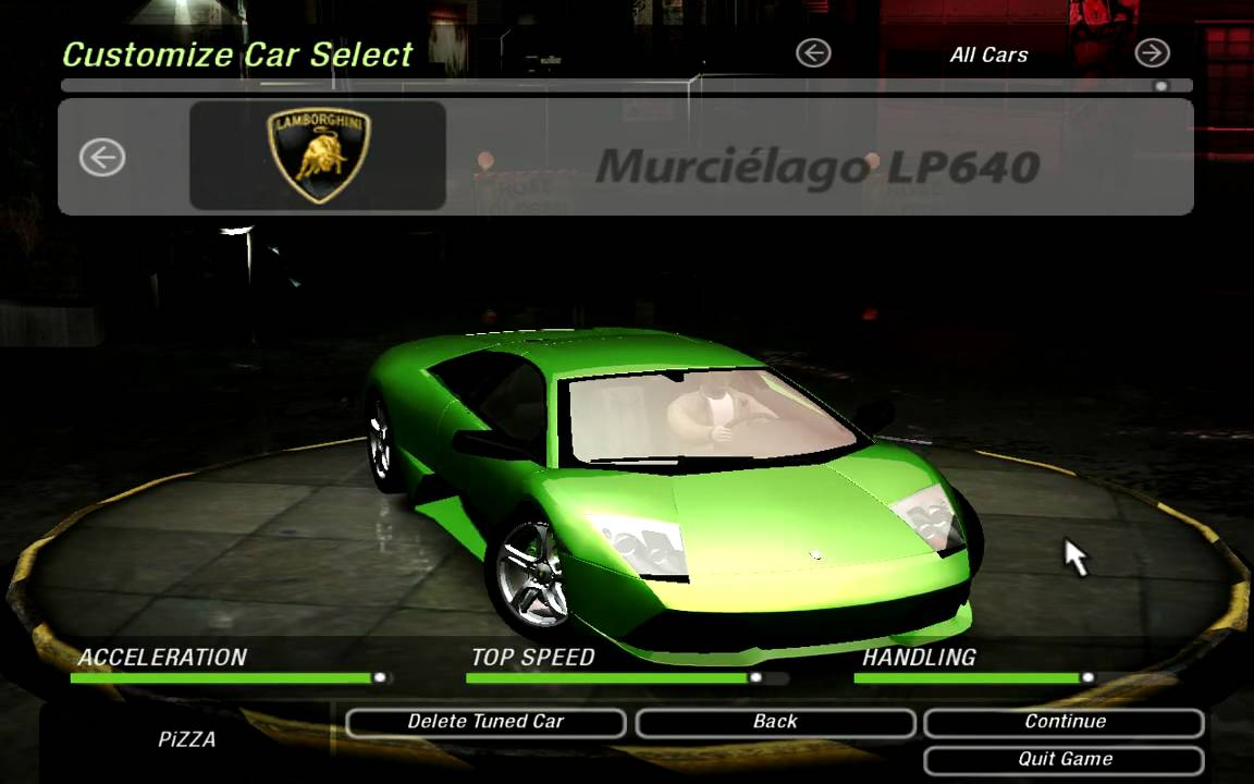 Need For Speed Underground 2 Lamborghini Murci 233 Lago Lp640 Mod Youtube