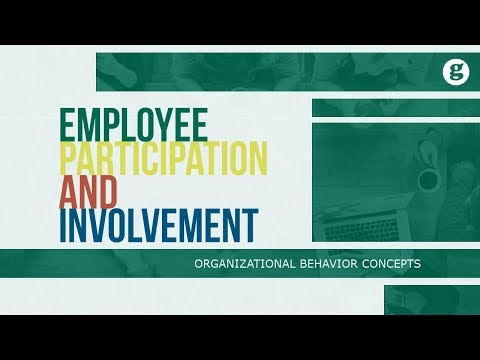 Employee Participation And Involvement