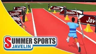 Summer Sports: Javelin - Game Trailer (Spil Games)