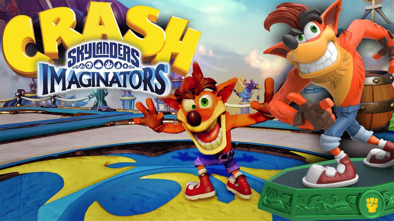Crash Bandicoot Roblox Skylanders Crash Bandicoot Hd Gameplay Attacks And Sky Chi Wii U Playstation Xbox Youtube