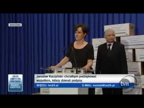 Jarosław Kaczyński dziękuje za zbieranie podpisów