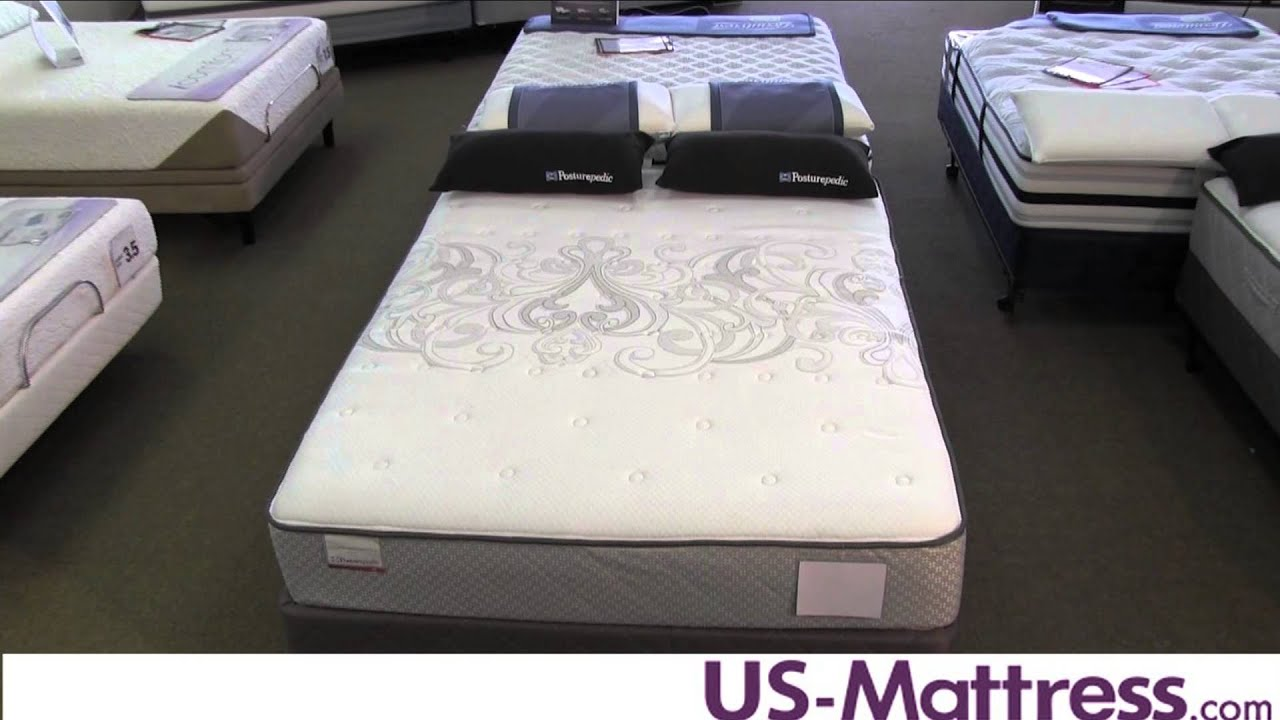Sealy Posturepedic Gel Series Warrenville Ultra Firm Mattress Youtube