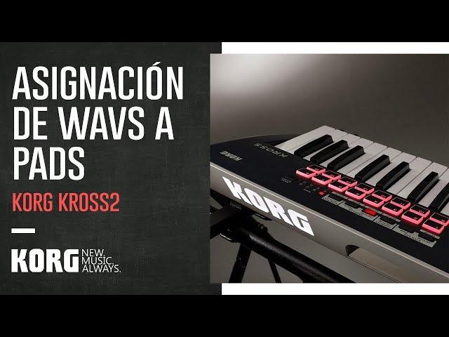 KORG KROSS2 | Asignación de WAVS a PADS