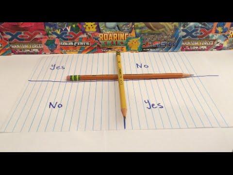 Magical Monday Ep. 1: Charlie Charlie Pencil Challenge - Pokemon Edition