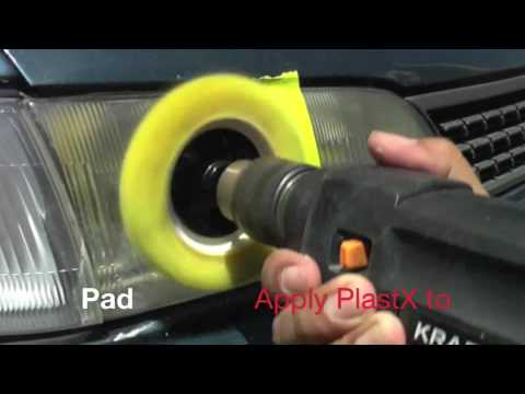 How To Clean and Polish Your Plastic Headlights