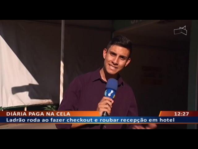 DF ALERTA - Peba assalta recepcionista depois de pernoitar em hotel