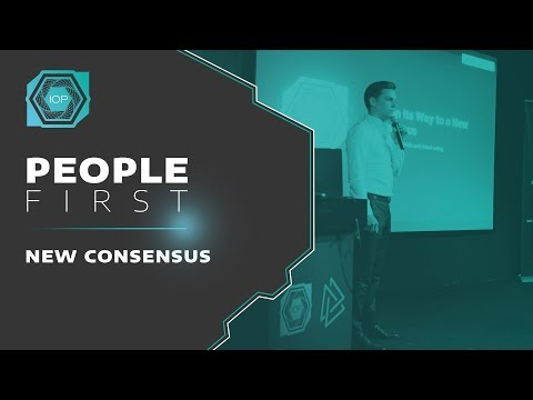 Building the new IOP consensus mechanism - People First Conference 2018 | Internet of People